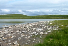 Rocky Shore at Mather Lake, SK (Photo by NCC)