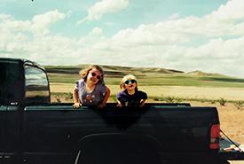 Ashlyn and Michelle (Photo courtesy Ashlyn Herron)