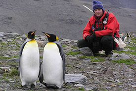 Brian Keating, Antarctica (Photo courtesy of Brian Keating)