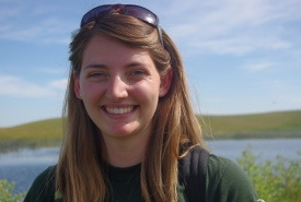 Former conservation intern Julia Frohlich (Photo by NCC)
