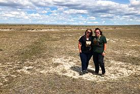Megan Jensen and Ashlyn Herron (Photo courtesy Ashlyn Herron/NCC staff)