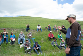 Participants at Youth Range Days (Photo by River Run Photography)