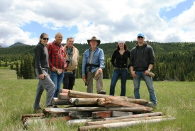 2011 Conservation Volunteers event, Fleming, Crowsnest Pass, Alberta (Photo by NCC)