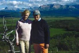 Ian and Judy Griffin, Hawksnest, Alberta (Photo courtesy of Ian and Judy Griffin)