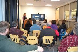 Kim Pearson presentation (Photo by NCC)