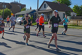 NCC staff running in the marathon (Photo by NCC)