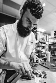 Janusz Urban, forager and sous chef (Photo courtesy Toque Catering)