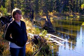 Nancy Newhouse, regional vice-president, BC Region (Photo courtesy N. Newhouse)