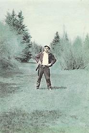 Charlie Fitzen was known as an avid hunter, trapper and fisherman. (Photo courtesy Deb de Hoog)
