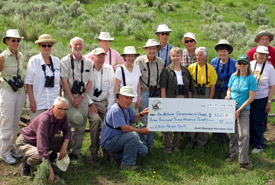 Local naturalists contribute to South Block (Photo courtesy SONC)