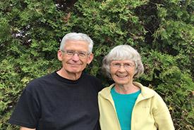 Jean Britton and Ransom Slack (Photo provided by Britton and Slack)