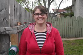 Melissa Grantham assistant conservation biologist, Manitoba Region