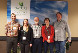 Manitoba's Ecological Restoration Workshop Planning Committee (Photo by NCC)