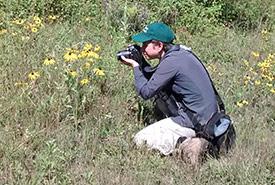 Jennifer Haughton, Bénévole pour la conservation (Photo reproduite avec la permission de Jennifer Haughton)