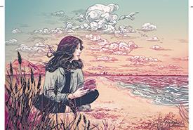 Leigh Gustafson (Illustration de Jacqui Oakley)