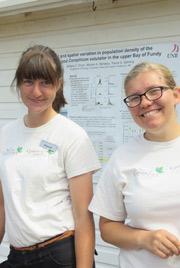 Hannah Kienzle and Hilary Mann (Photo by NCC)
