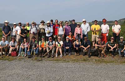 Gaff Point CV event, NS (Photo by Mike Dembeck)