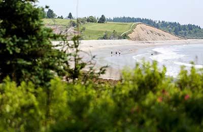 Vue de Gaff Point, N.-É. (Photo de Mike Dembeck)