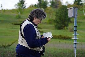 Elizabeth Kellogg, Rice Lake Plains, ON (Photo by NCC)
