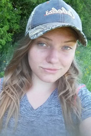 Gina Aicken, 2016 conservation technician intern for NCC (Photo by NCC)