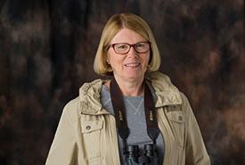 Pamela Stagg, host of