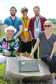 The Duncan family at the James Duncan Celebration of Life on Pelee Island, June 2019, ON (Photo by NCC)