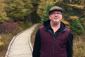 Greg Barnett - at home in nature (Photo courtesy of Barnett family)