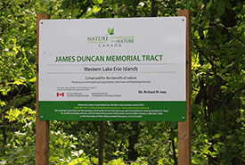 James Duncan Nature Tract, Pelee Island, ON (Photo by NCC)