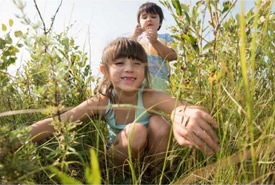 Kids in nature (Photo by NCC)
