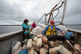 Murray Harbour Cleanup, PEI (Photo by Stephen Desroches)