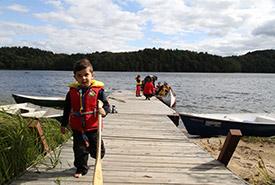 Journée Découvre ta nature à Kenauk, QC (Photo de CNC)