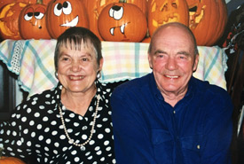 Gladys Murphy and her late husband Fergus, NCC Donors